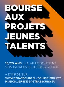 bourse aux projets jeunes talents